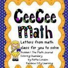 5th Grade Math Writing