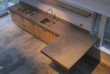 houten keuken nieuw huis