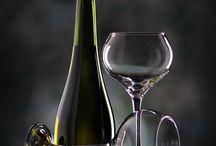 şarap bardak şişe  çekimi