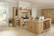 Burbidge's Petworth Kitchen / The Petworth Kitchen comes in natural oak and painted finish or a combination of both. With 25 colours to choose from, our 'Bespoke Painted Service' and 150th Anniversary Palette you can make the Petworth Kitchen uniquely yours.