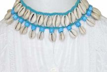 Cowrie and Shell Necklaces / Fashion Necklace