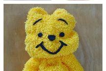 urso de toalha
