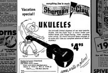 Old Ukulele Adverts