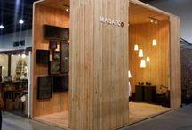 Exhibit/Retail / Cool exhibit and retail designs