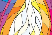 Espírito Santo / Tudo que lembre, sugira ou inspire ser cheio do Espírito Santo