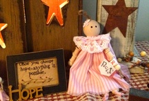 Spool Dolls Primitive-Pockets by Kamylle / Pockets by Kamylle is my daughter Kamylle's small business of primitive handmade items.  Kamylle is a 10 years old young lady who started her own business thanks to the Young Millionaires Program in Summerside PE.  Kamylle has managed to make over $2,000 profits over the summer 2012.  You can order her items via email.  pocketsbykamylle@live.com / by Lynne Morneault-Arsenault