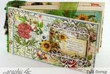 Scrapbooking Graphic 45 Time to Flourish