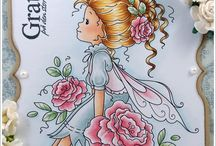 Cards Menina