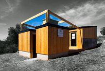 Cabanas de madeira