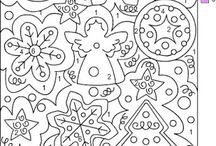 Coloriages Mystere / Coloriages Mystere