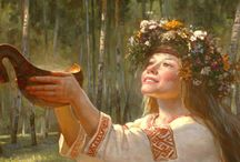 Various Painters of Slavic Theme