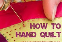 Hand Quilting Ideas and Info