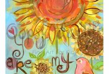 You are my sunshine / by Elaine Didelot