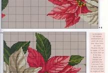 Schema Punto Croce - NATALE / Raccolta di schemi a punto croce a tema natalizio