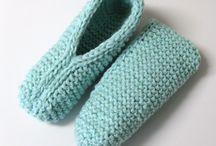 Chaussette à tricoter