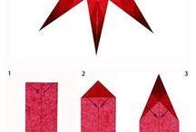 estrela origami