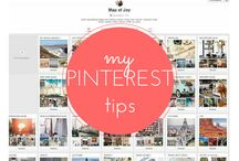 PINTEREST TIPS / How to make the most out of your Pinterest account.