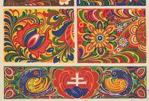 Maľovanie - ľudové ornamenty