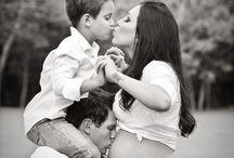 Fotos em família na gestação