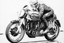 motorcycles art