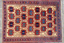 antique avshar rug
