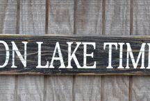 Lake house! / by Elizabeth Story