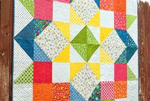 Big and bold 1 block quilts