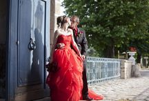 ♜ A Red and Black wedding ♞ / Two strong colours for an astonishing wedding!