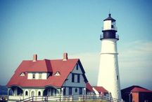 Lighthouses / From Whaleback to Whitlock's Mill, lighthouses are treasured fixtures of Maine's coast.