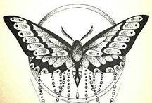 Tetoválásvázlatok / bohóc tetovál