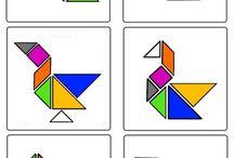 Matematiikka - tangram