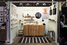 Minimalist booth