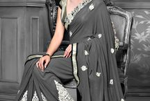 Exotic drapes : Saree with style