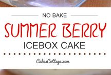 Icebox cakes n puddings