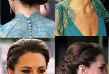 Hair styles, beauty