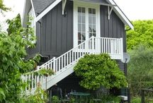 Exteriors / How your exterior can look.  My favourite is black and white with a rustic appeal