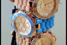 Horloges van Ernest / Trendy horloges van Ernest in diverse kleuren ! Leuk kado voor de feestdagen ...