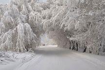Winter...snow...