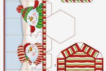 Eventos dulces cajitas y casitas de Navidad y mucho mas