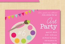 Painting/Art Party ♡