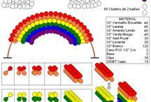 Радужные шары арка