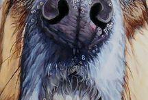 aaaaaaaaaaaArtwork Dog & Cat Paintings