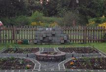 Cinder Block Garden Beds