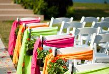 New* Wedding Ideas- green,pink,orange