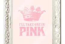 I Love Pink / No secret here, I love the color pink...all shades and on all things.