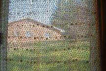 Curtains knitting