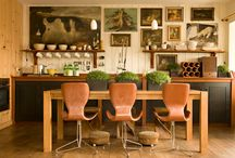 "Cultivate Your Style / I'd say my style is rather Eclectic-leans-traditional, if by ""traditional"" we mean some Craftsman, some Shaker, some modern elements, and a schoche of antiques. So. Eclectic, mmkay? :) / by Liz Cadorette"