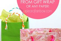 Wrapping / Wrapping and packing