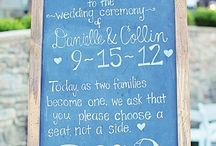 Weddings | Chalkboard Inspiration  / by Lavender Hill Weddings + Events