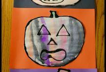 Preschool - Fall Art/learning Projects for Kids